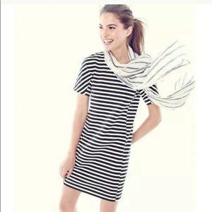 J.Crew Striped T-Shirt Dress Short Sleeve Sz XXS